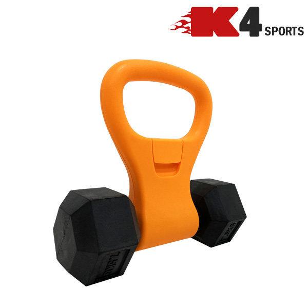 K4스포츠 K100 케틀벨 손잡이 핸드그립 휴대용 덤벨 상품이미지