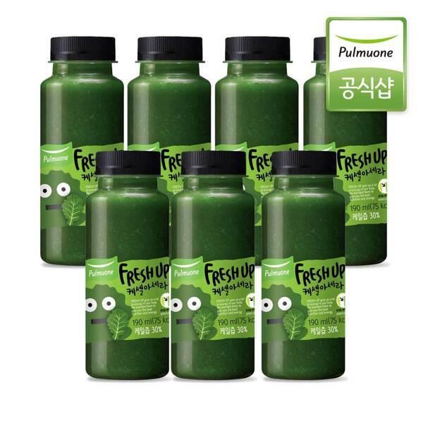 풀무원녹즙 프레시업 케셀아세라 190ml x 7병 (냉장배송) 상품이미지