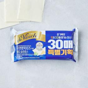 드빈치)자연방목치즈17G 30매