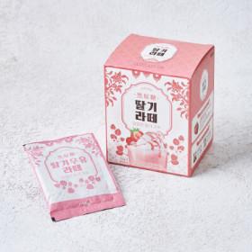 바이오믹스테크)흑원당딸기우유라떼10T
