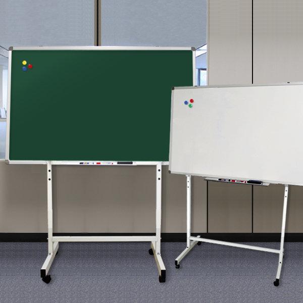 자석칠판+스탠드세트/화이트보드/분필칠판/물백묵칠판 상품이미지