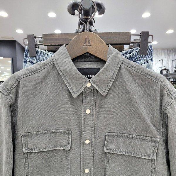 남성 오버핏 셔켓 B215DS180D 상품이미지