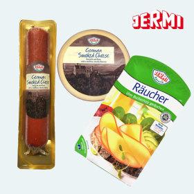 JERMI 독일 스모크 치즈100g 훈연치즈 간식 안주 와인