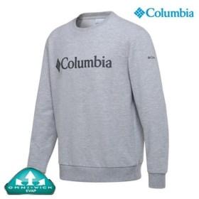 [컬럼비아] [하프클럽/]유니 로고 맨투맨 티셔츠 (C11-YMD601) Grey