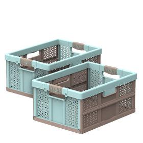 폴딩박스 32L 1+1 /접이식 수납박스