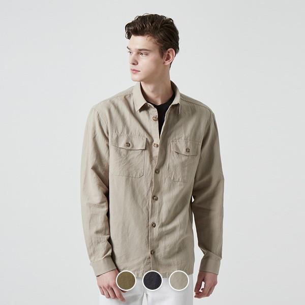 컨셉원   단독특가  040502 코튼 린넨 셔츠자켓 (10040502) 상품이미지