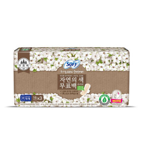 바디피트 유기농무표백 대형 16Px3개(48P)