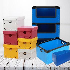플라스틱 이사박스/pvc 단프라 택배 포장 상자 이삿짐