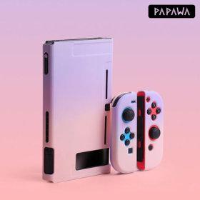 파파와 닌텐도 스위치 파스텔 그라데이션 하드 케이스
