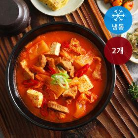 국내산암퇘지 김치찌개 (냉동) 1.1kg 2개