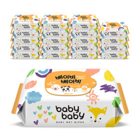 네이처 휴대리필형 엠보 20매 20팩 아기물티슈