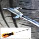 코차 블루핸드 타이어 돌캐는 드라이버 돌캐기 청소