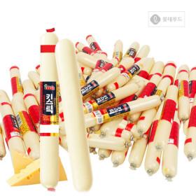 롯데 청춘간식 체다치즈 키스틱 25g x 100