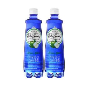 초정탄산 그린애플 500ml 20개 / 음료수 탄산음료