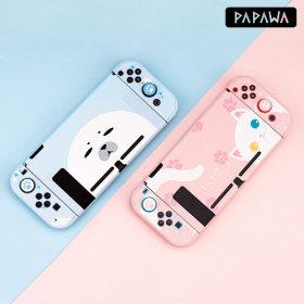 파파와 닌텐도 스위치 애니멀 에디션 커버 하드케이스