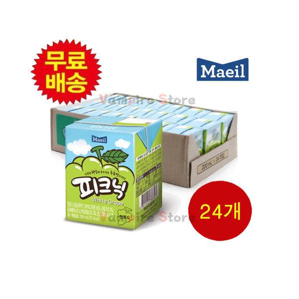 피크닉 청포도맛 1박스(24개) 상품이미지