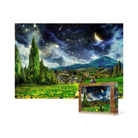 [아트박스] /퍼즐사랑 500피스 직소퍼즐 / 반 고흐 - 별이 빛나는 밤