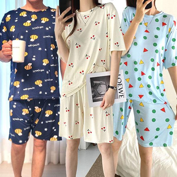 드림도형세트 반팔잠옷세트 수면잠옷 파자마 짱구잠옷 상품이미지
