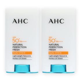 AHC 내추럴 퍼펙션 프레쉬 선스틱 17g x2개