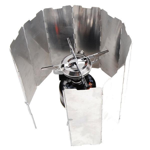 캠핑 버너 바람막이 10단 코펠 알루미늄 휴대용 고정 상품이미지