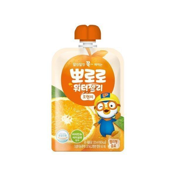 뽀로로 워터젤리 오렌지 120ml 상품이미지