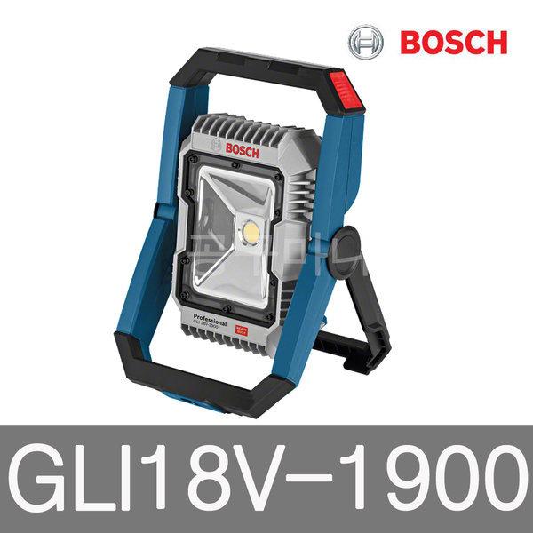 보쉬 18V충전랜턴 베어툴 LED 작업등 GLI18V-1900본체 상품이미지