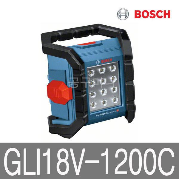 보쉬 18V 충전 랜턴 베어툴 LED 작업등 GLI18V-1200C 상품이미지
