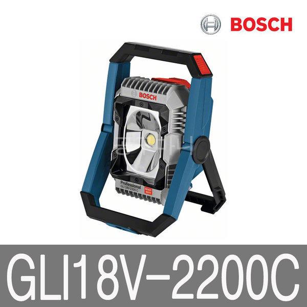 보쉬 18V 충전 랜턴 베어툴 LED 작업등 GLI18V-2200C 상품이미지