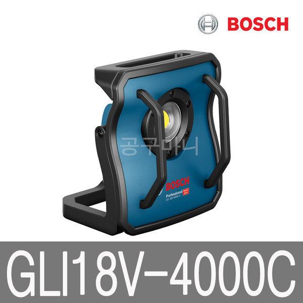 보쉬 18V 충전 랜턴 베어툴 LED 작업등 GLI18V-4000C 상품이미지