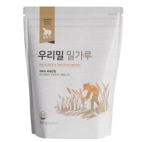 우리밀 밀가루 900g 중력 밀가루 1등급 100%우리밀
