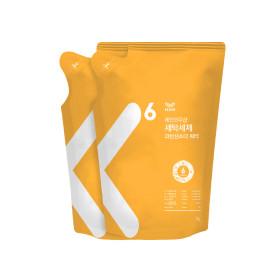 세탁세제 과탄산소다 워터 1L 리필 x2