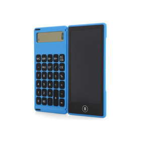 LCD 전자노트 계산기 패드 보드 드로잉 메모장 블루