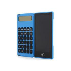 LCD 전자노트 계산기 패드 드로잉 메모장 보드 블루