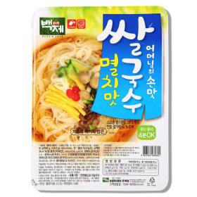 백제쌀국수 멸치쌀국수 30개 무료배송