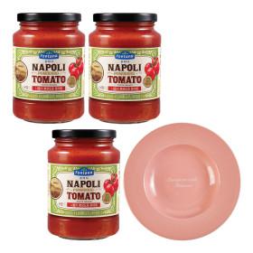 폰타나 뽀모도로 토마토 파스타 3개 + 스파게티 1개