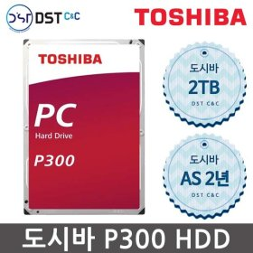 TOSHIBA 3.5인치 P300  2TB HDD 하드디스크 HDWD120