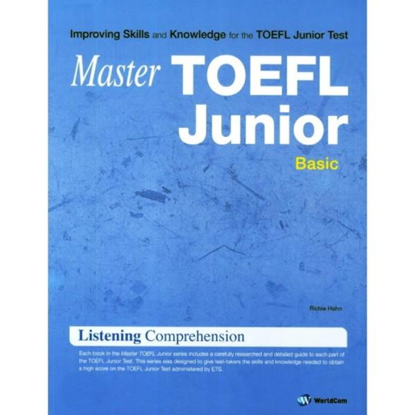 MASTER TOEFL JUNIOR LISTENING COMPREHENSION(BASIC)(CD1포함) 상품이미지