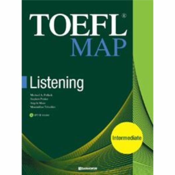TOEFL MAP LISTENING (INTERMEDIATE) CD1 포함 상품이미지