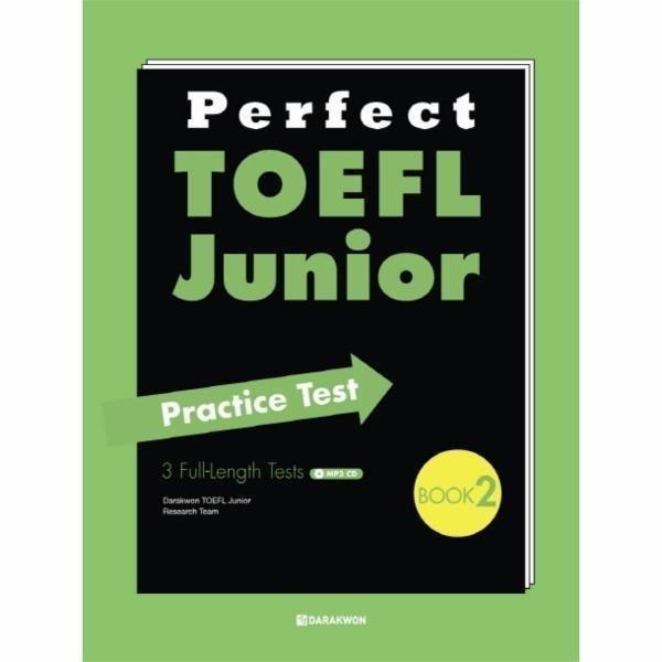 PERFECT TOEFL JUNIOR(2)PRACTICE TEST(CD 1포함) 상품이미지