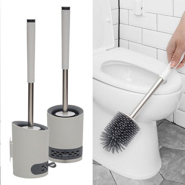 실리콘변기솔 욕실변기솔 화장실 변기솔 변기청소솔 상품이미지