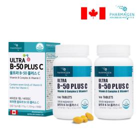 비타민B-50 컴플렉스+C 피로회복 면역력 100일 (2병)