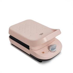 타임와플메이커(핑크) 샌드위치기 분리형팬 2종류