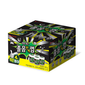 졸음번쩍껌 딱좋아팩 348g (4통)