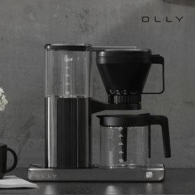 올리 가정용 원두 드립 커피머신 커피메이커 OLCM07B