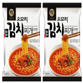오모리 김치찌개 봉지라면 160g