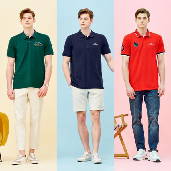 RCB폴로클럽 남성 반팔 폴로셔츠 5종세트+양말 추가구성 상품이미지