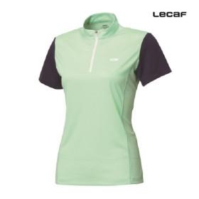 [르까프] 1220TZ252 여성 AERODRY 기능성 반팔 집업 티셔츠