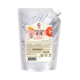 청정원 로제스파게티소스2kg