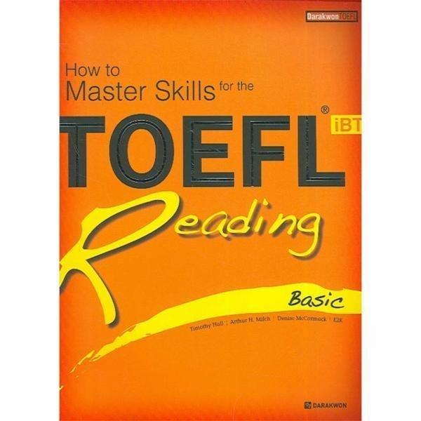 TOEFL IBT READING(BASIC)HOW TO MASTER SKILLS FOR THE 상품이미지