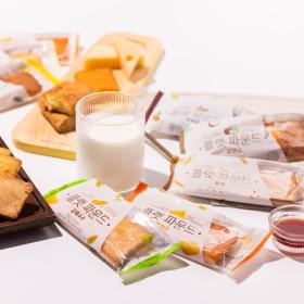 200도 오븐 파운드 2종 10개씩 / 빵 간식 케이크